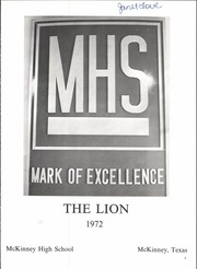 Page 7, 1972 Edition, McKinney High School - Lion Yearbook (McKinney, TX) online yearbook collection
