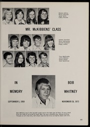 Page 109, 1974 Edition, Edon High School - Key of E Yearbook (Edon, OH) online yearbook collection