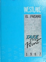 1987 Edition, Westlake High School - El Paisano Yearbook (Austin, TX)