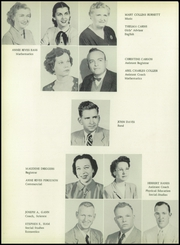 Page 16, 1954 Edition, Jones Valley High School - Brownie Yearbook (Birmingham, AL) online yearbook collection