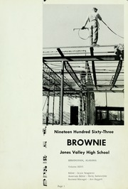 Page 5, 1963 Edition, Jones Valley High School - Brownie Yearbook (Birmingham, AL) online yearbook collection