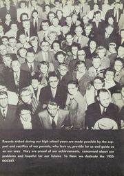 Page 9, 1955 Edition, Northeast High School - Rocket Yearbook (Lincoln, NE) online yearbook collection