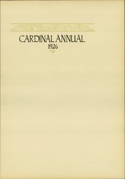 Page 7, 1926 Edition, South Division High School - Cardinal Yearbook (Milwaukee, WI) online yearbook collection