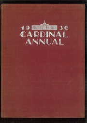 Page 1, 1936 Edition, South Division High School - Cardinal Yearbook (Milwaukee, WI) online yearbook collection