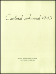 Page 7, 1943 Edition, South Division High School - Cardinal Yearbook (Milwaukee, WI) online yearbook collection