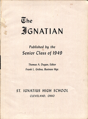Page 5, 1949 Edition, St Ignatius High School - Ignatian Yearbook (Cleveland, OH) online yearbook collection