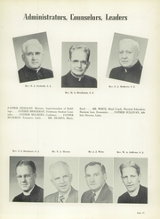 Page 15, 1953 Edition, St Ignatius High School - Ignatian Yearbook (Cleveland, OH) online yearbook collection