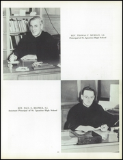 Page 15, 1957 Edition, St Ignatius High School - Ignatian Yearbook (Cleveland, OH) online yearbook collection