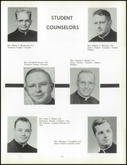 Page 17, 1957 Edition, St Ignatius High School - Ignatian Yearbook (Cleveland, OH) online yearbook collection