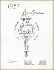 Page 5, 1957 Edition, St Ignatius High School - Ignatian Yearbook (Cleveland, OH) online yearbook collection