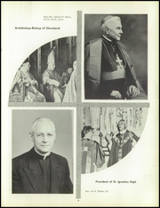 Page 13, 1958 Edition, St Ignatius High School - Ignatian Yearbook (Cleveland, OH) online yearbook collection