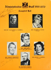 Page 9, 1970 Edition, Campbell Hall School - Viking Yearbook (North Hollywood, CA) online yearbook collection