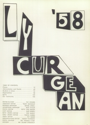 Page 3, 1958 Edition, West Covina High School - Lycurgean Yearbook (West Covina, CA) online yearbook collection