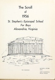 Page 5, 1956 Edition, St Stephens Episcopal School - Scroll Yearbook (Alexandria, VA) online yearbook collection