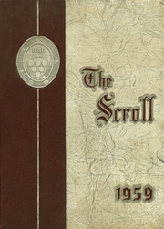 1959 Edition, St Stephens Episcopal School - Scroll Yearbook (Alexandria, VA)
