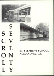 Page 3, 1970 Edition, St Stephens Episcopal School - Scroll Yearbook (Alexandria, VA) online yearbook collection