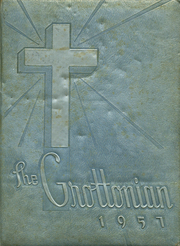 1957 Edition, Saint Annes Academy - Grottonian Yearbook (Fort Smith, AR)