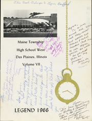 Page 5, 1966 Edition, Maine West High School - Legend Yearbook (Des Plaines, IL) online yearbook collection