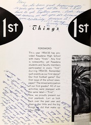 Page 10, 1955 Edition, Pasadena High School - Campus Yearbook (Pasadena, CA) online yearbook collection