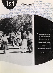 Page 9, 1955 Edition, Pasadena High School - Campus Yearbook (Pasadena, CA) online yearbook collection