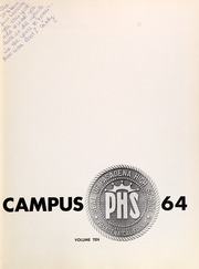 Page 7, 1964 Edition, Pasadena High School - Campus Yearbook (Pasadena, CA) online yearbook collection