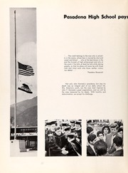 Page 8, 1964 Edition, Pasadena High School - Campus Yearbook (Pasadena, CA) online yearbook collection
