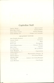 Page 8, 1914 Edition, Springfield High School - Capitoline Yearbook (Springfield, IL) online yearbook collection