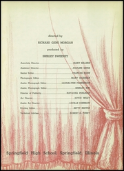 Page 9, 1941 Edition, Springfield High School - Capitoline Yearbook (Springfield, IL) online yearbook collection