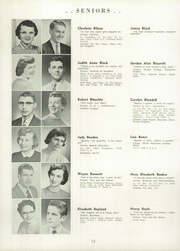 Page 16, 1956 Edition, Springfield High School - Capitoline Yearbook (Springfield, IL) online yearbook collection
