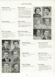 Page 17, 1956 Edition, Springfield High School - Capitoline Yearbook (Springfield, IL) online yearbook collection
