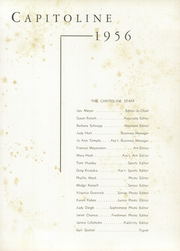 Page 5, 1956 Edition, Springfield High School - Capitoline Yearbook (Springfield, IL) online yearbook collection