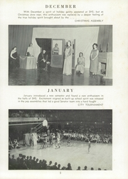 Page 9, 1956 Edition, Springfield High School - Capitoline Yearbook (Springfield, IL) online yearbook collection