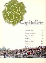 Page 6, 1968 Edition, Springfield High School - Capitoline Yearbook (Springfield, IL) online yearbook collection