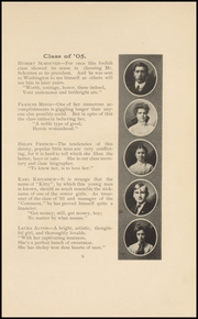 Page 11, 1905 Edition, Keokuk High School - Comment Yearbook (Keokuk, IA) online yearbook collection