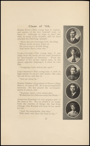 Page 14, 1905 Edition, Keokuk High School - Comment Yearbook (Keokuk, IA) online yearbook collection