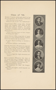 Page 17, 1905 Edition, Keokuk High School - Comment Yearbook (Keokuk, IA) online yearbook collection