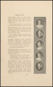 Page 12, 1906 Edition, Keokuk High School - Comment Yearbook (Keokuk, IA) online yearbook collection