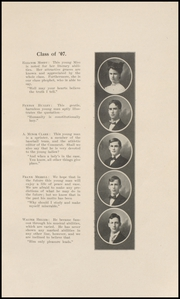 Page 11, 1907 Edition, Keokuk High School - Comment Yearbook (Keokuk, IA) online yearbook collection