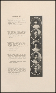 Page 15, 1907 Edition, Keokuk High School - Comment Yearbook (Keokuk, IA) online yearbook collection