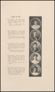 Page 17, 1907 Edition, Keokuk High School - Comment Yearbook (Keokuk, IA) online yearbook collection