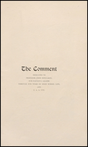 Page 5, 1907 Edition, Keokuk High School - Comment Yearbook (Keokuk, IA) online yearbook collection