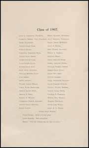 Page 8, 1907 Edition, Keokuk High School - Comment Yearbook (Keokuk, IA) online yearbook collection