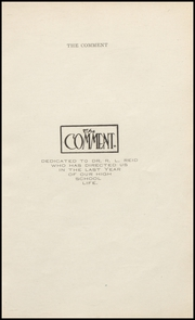 Page 11, 1908 Edition, Keokuk High School - Comment Yearbook (Keokuk, IA) online yearbook collection