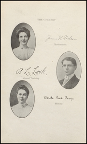 Page 16, 1908 Edition, Keokuk High School - Comment Yearbook (Keokuk, IA) online yearbook collection