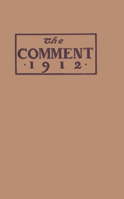Page 1, 1912 Edition, Keokuk High School - Comment Yearbook (Keokuk, IA) online yearbook collection