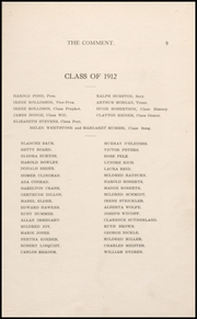 Page 15, 1912 Edition, Keokuk High School - Comment Yearbook (Keokuk, IA) online yearbook collection