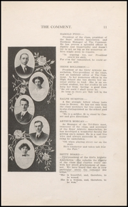 Page 17, 1912 Edition, Keokuk High School - Comment Yearbook (Keokuk, IA) online yearbook collection