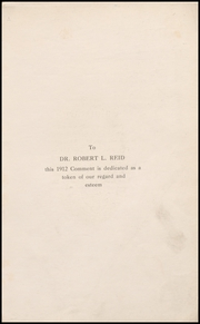 Page 5, 1912 Edition, Keokuk High School - Comment Yearbook (Keokuk, IA) online yearbook collection