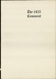 Page 5, 1925 Edition, Keokuk High School - Comment Yearbook (Keokuk, IA) online yearbook collection