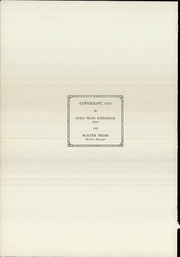 Page 6, 1925 Edition, Keokuk High School - Comment Yearbook (Keokuk, IA) online yearbook collection